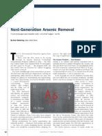 Arsenic Removal Media Regeneration