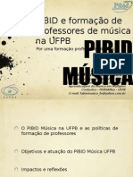 PIBID MUSICA UFPB