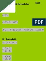 Test cu matrice