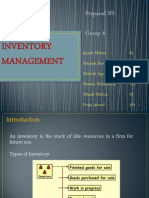 Ch 8 Inventory Management