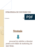 Strategia de Distribuție