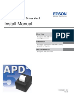 APD5 Install E RevC EPSON