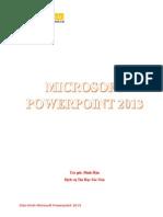 Giáo Trình PowerPoint 2013 Bản Tiếng Việt