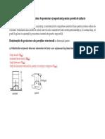 Zidarie.calculul Rezistentelor de Proiectare