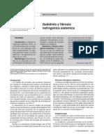 Gadolinio y Fibrosis Nefrogencia