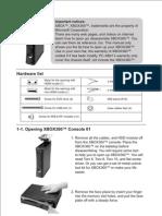 Lian Li PC-XB01 Case for Xbox 360 User's Manual