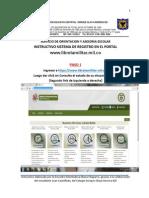 Instructivo Registro Inscripcion - Definicion de Situacion Militar