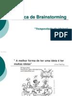 Técnica de Brainstorming e Benchmarking