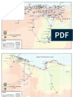 North Africa - Electricity Grid Map