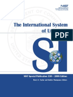 SI system booklet