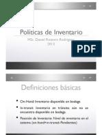 03_Politicas de Inventario