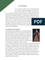 La Saint-Barthélemy - histoire
