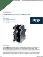Transforma Tu Viejo Router en Una Tarjeta WiFi · Pcactual.com en Español · Paso a Paso Hardware