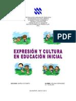 expresión y cultura en educación inicial