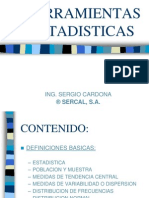 HERRAMIENTAS ESTADISTICAS 2007