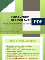 2.1 TIPOS DE DATOS