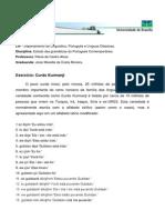 Exercícios - Estudo Das Gramáticas - Curdo Kurmanji