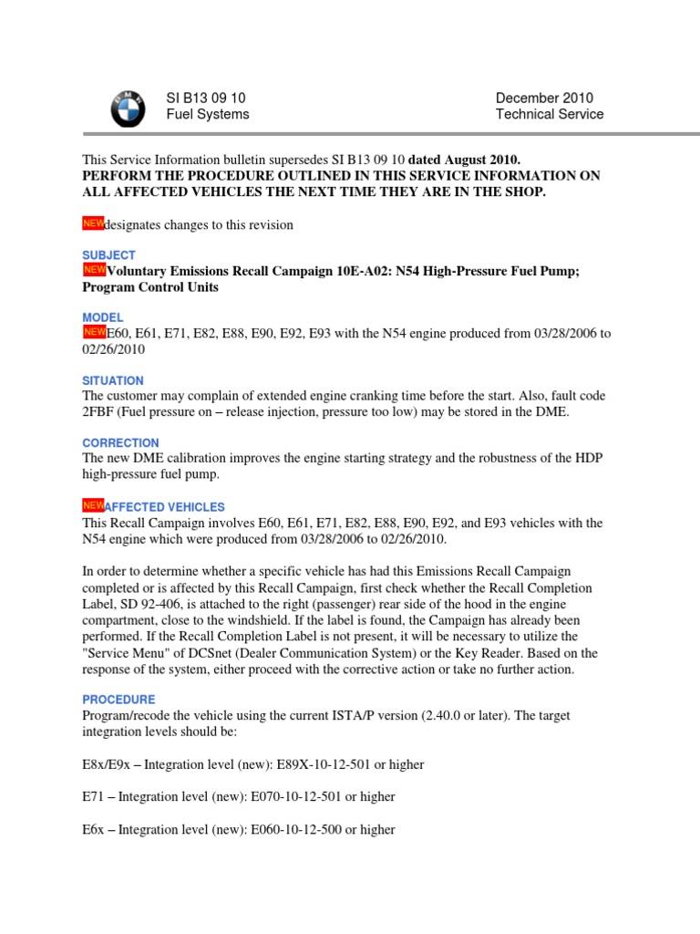 SI B13 09 10 | Automotive Technologies | Motor Vehicle