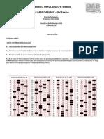 Gabarito_Simulado Tradicional 1ª Fase OAB