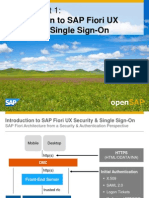 OpenSAP Fiori1 Week 04 Securing SAP Fiori UX