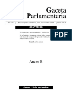 Anexos del dictamen de Presupuesto de Egresos de la Federación