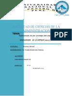Implementación Del Plan Estratégico Dela Empresa Y EL ORGANIGRAMA de LA EMPRESA Expocal Sac