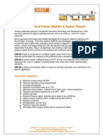 ARCHOIL AR9100 Product Tech Sheet