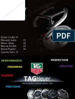 TAG HEUER - Marketing Strategy & Brand Ambassadors Worldwide