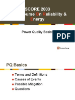 SCORE 2003 Power Quality Basics
