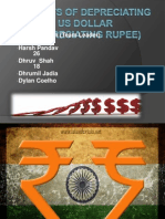 Finance Project Presentation Dollar vs Rupee