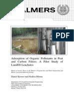 Carbon Activado para purificación de agua