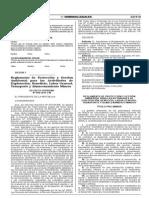 Reglamento Minero DS. 040-2014-EM