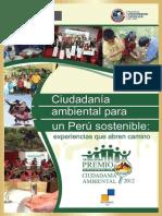 Premio Nacional de Ciudadanía Ambiental 2012