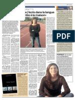 Lexpress Jeudi 13 Nov 2014 Interview