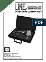Baseline 3 Piece Hand Evaluation Set User Manual