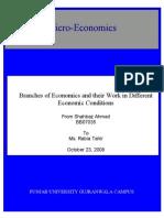 Micro & Macro Economics