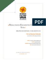 Resultado Encuentro CVC Chile