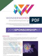 Wonder Women Tech Sponsorship Deck