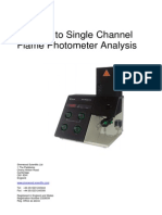 A Guide to Single Channel Flame Photometry