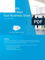 Salesforce- How a CRM Solution Helps Your Business Grow