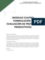 Formulacion y Evaluacin de Proyectos