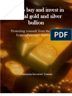 "Sample of ""How to buy and invest in physical gold and silver bullion"""
