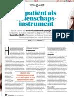 De Patient als wetenschaps-instrument
