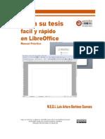 Haga Su Tesis Fácil y Rápido en LibreOffice