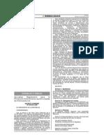 Reglamento Protección Ambiental Hidrocarburos