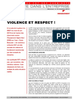 Violence Respect