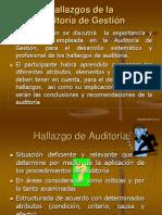 Hallazgos de la Auditoría de Gestión.ppt