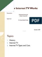 Multimedia Research [Internet TV ]