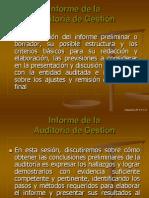 Informe de la Auditoría de Gestión.ppt
