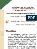 Microblogs y Blogs Corporativos1